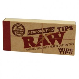 RAW WIDE TIPS PERFORATED ORGANIC
